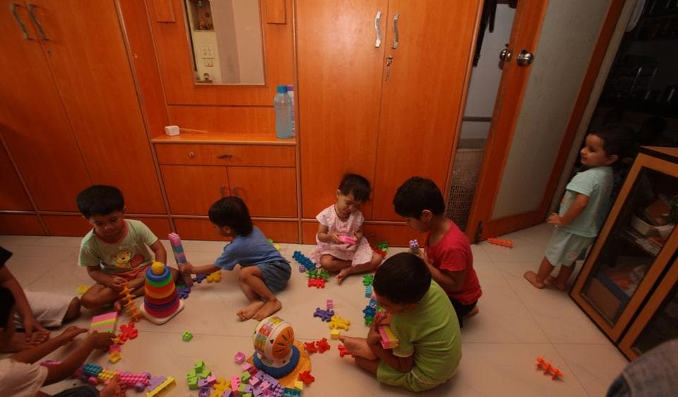 In India, teachers and attendants at child care centres do not have to be qualified for the work. In countries like Britain and and United Arab Emirates, day care staffers need to be qualified in baby-sitting courses