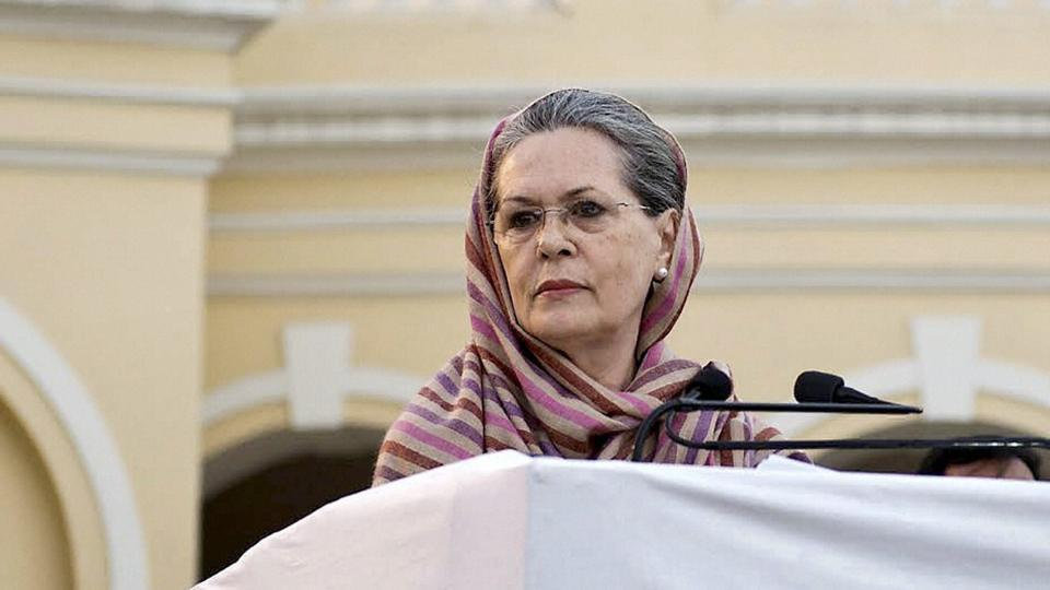 Congress president Sonia Gandhi was hospitalised due to asthma-related problems in New Delhi on Tuesday.