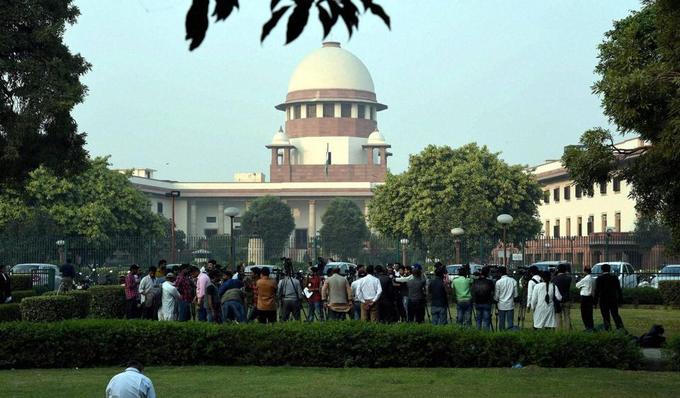Media persons at the Supreme Court of India, New Delhi, India. (File Photo)