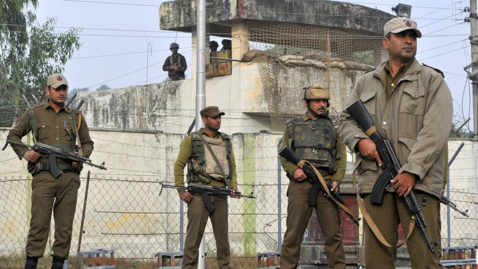 Nagrota,Army camp,Militant attack