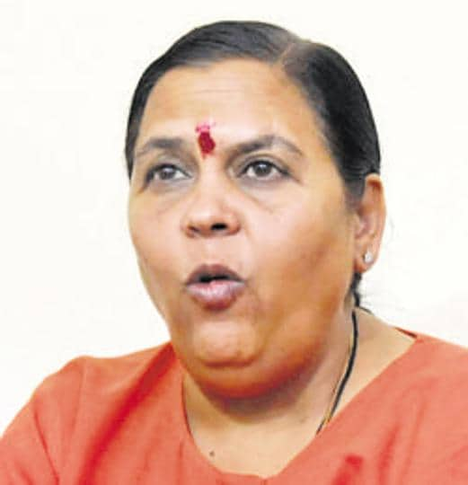 Uma Bharti said perhaps she couldn't have run the government in a proper way as she lacks patience and tolerance.