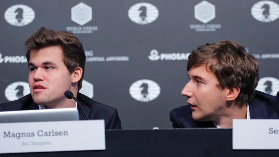 The championship match between Magnus Carlsen and Sergey Karajkin will now be decided via tie-breaker games after both players drew the final game.