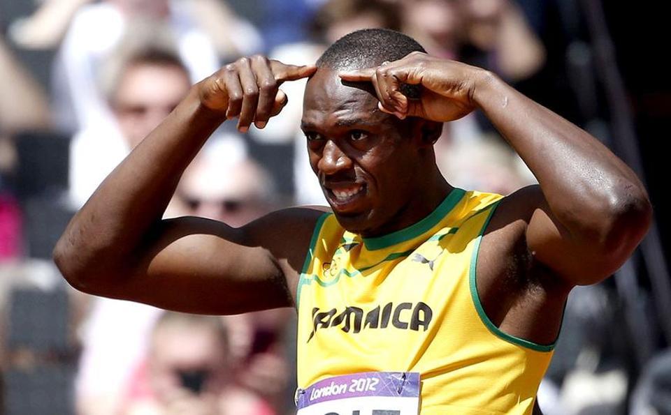 Jamaica's Usain Bolt won three gold medals at the Rio Olympics.