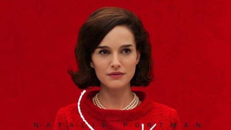 Natalie Portman plays Jacqueline Kennedy in Jackie.