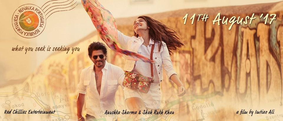 Shah Rukh Khan,ANushka Sharma,Imtiaz Ali