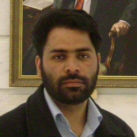 Khurram Parvez was released from prison in Jammu on Wednesday after spending 76 days in detention.