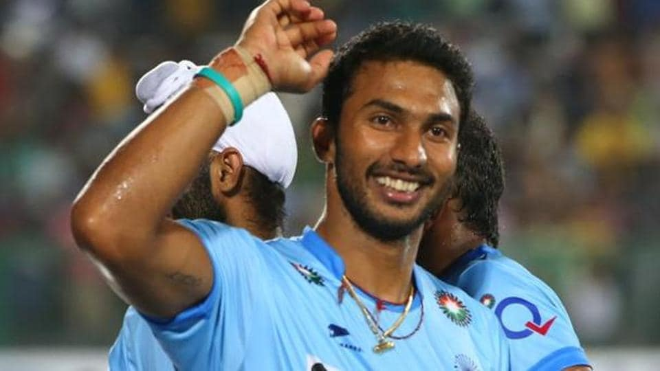 India skipper VR Raghunath scored twice against Australia in the second match on Wednesday. Both the goals were penalty corner conversions, while Akashdeep Singh opened scoring for India with a field goal in the sixth minute.