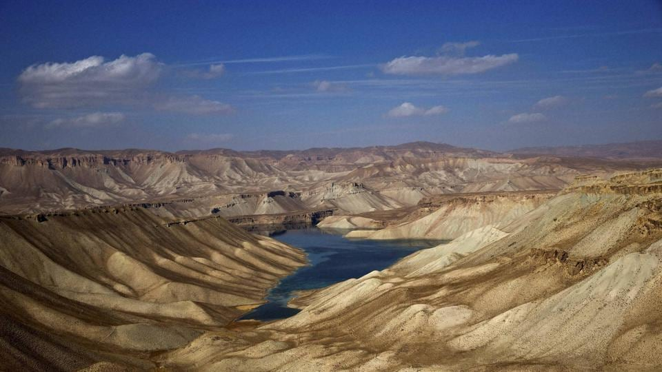 Seen here, a part of Band-e-Amir in Bamiyan province. (AP)