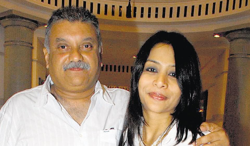 Indrani and Peter Mukerjea