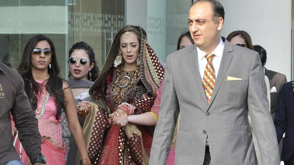 He is getting married to Bollywood actor Hazel Keech.  (Sant Arora/ HT Photo)