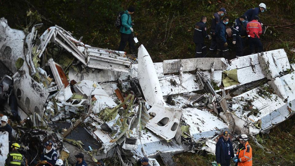 Emergency workers have found the black boxes with flight data and cockpit voice recordings from the Colombian plane crash.