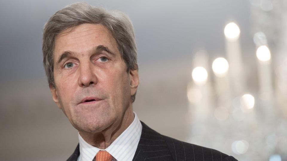 US secretary of state John Kerry warned that he