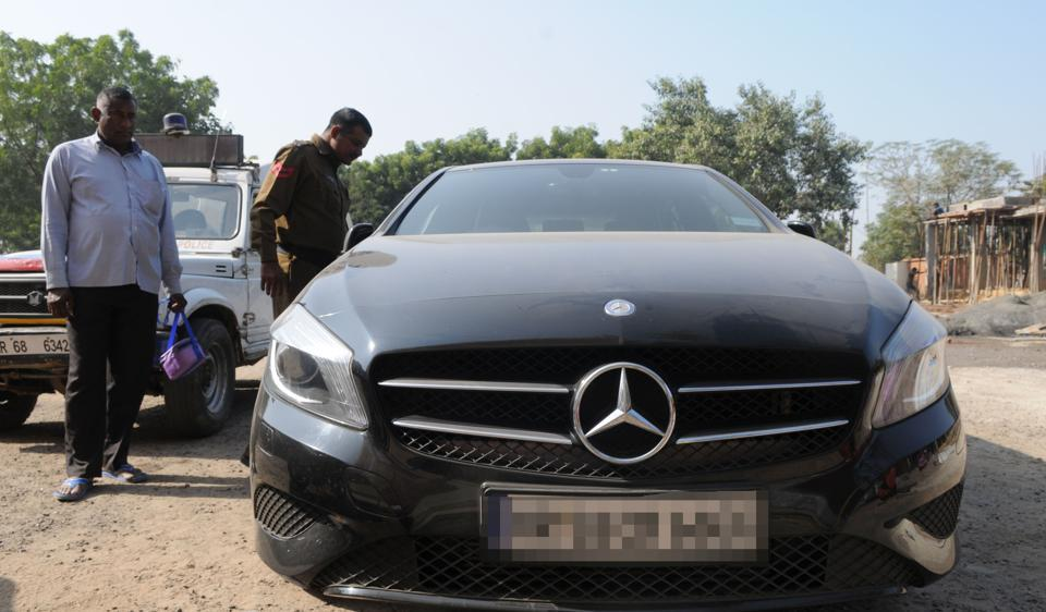 Earlier, the police had seized Rs35 lakh in scrapped currency from a Mercedes Benz, in a separate incident.