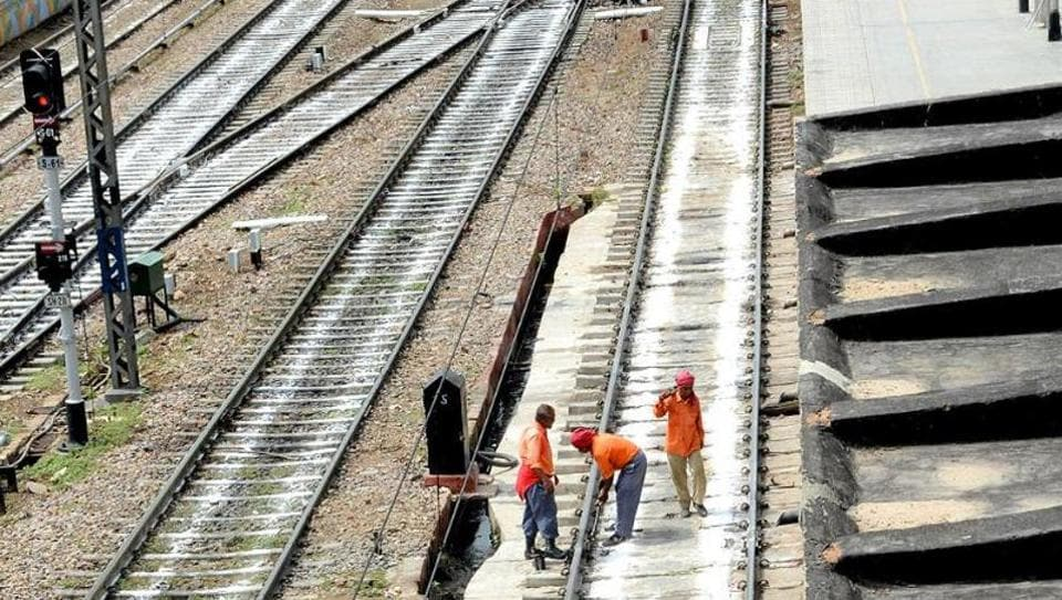 The government will construct strategic rail lines along India's borders with China and Pakistan.