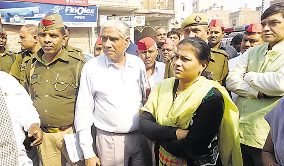ghaziabad DM,Nidhi Kesarwani