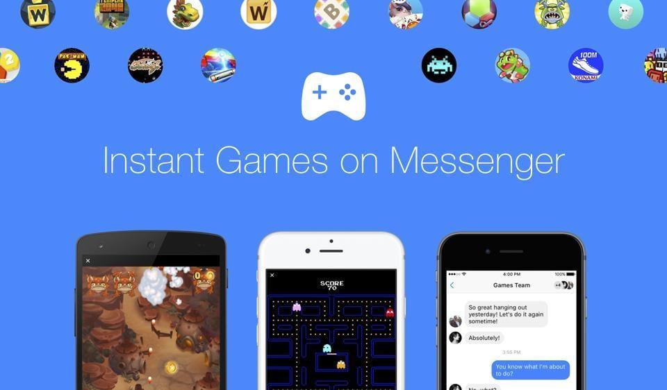 Facebook,Messenger,Games on Facebook