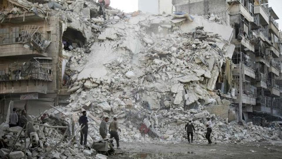 15 of the strikes took place against Syrian regime forces what the US-led coalition believed were Islamic State fighters.