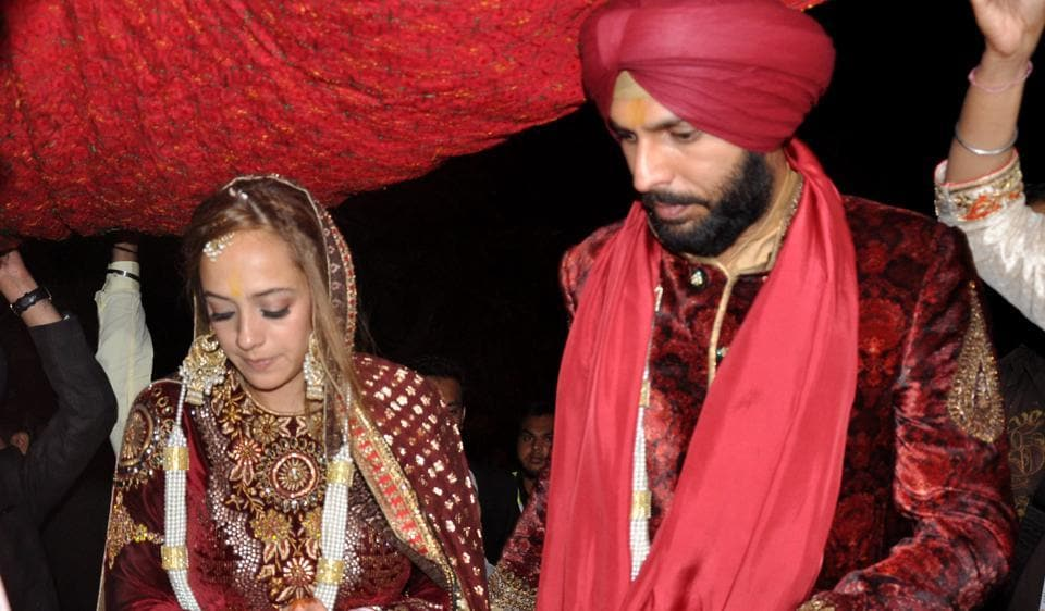 Yuvraj Singh weds model Hazel Keech in traditional Sikh ceremony