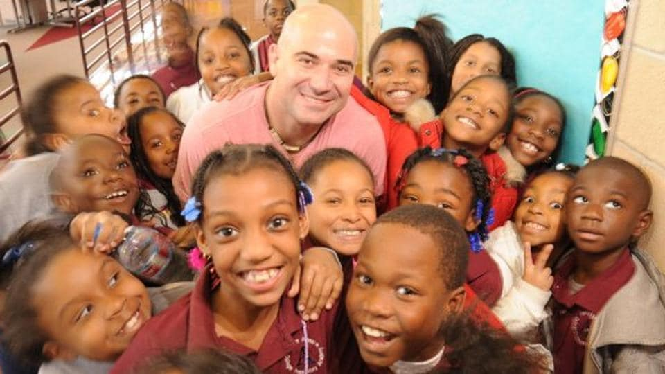 Andre Agassi dropped out of school while he was in eighth grade to pursue tennis professionally. A decision he regretted later in life and the main reason why his efforts right now revolve around providing educational choices for children.