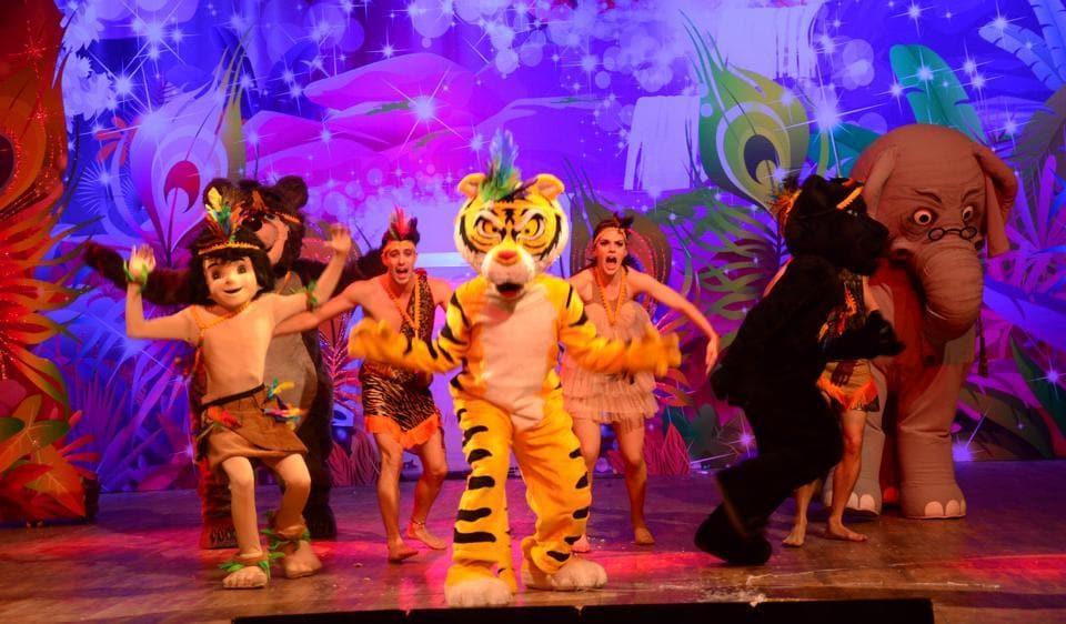 A still from last year's Jungle Book Jive