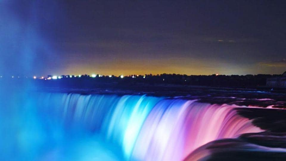 Niagara Falls Gets 4m Lighting Makeover Led Brightens View