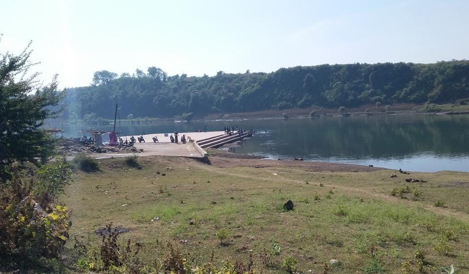 Jabalpur,saint donates land,beautification of ghat