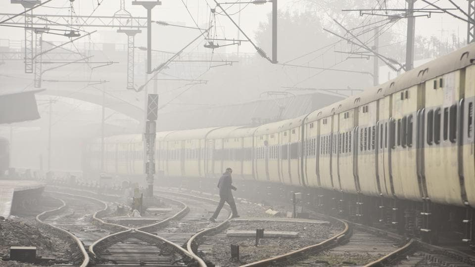 Train services between Kashmir and Jammu were suspended following the unrest the erupted in the valley in July.