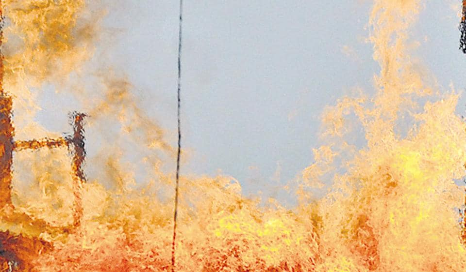 fire at chemical firm