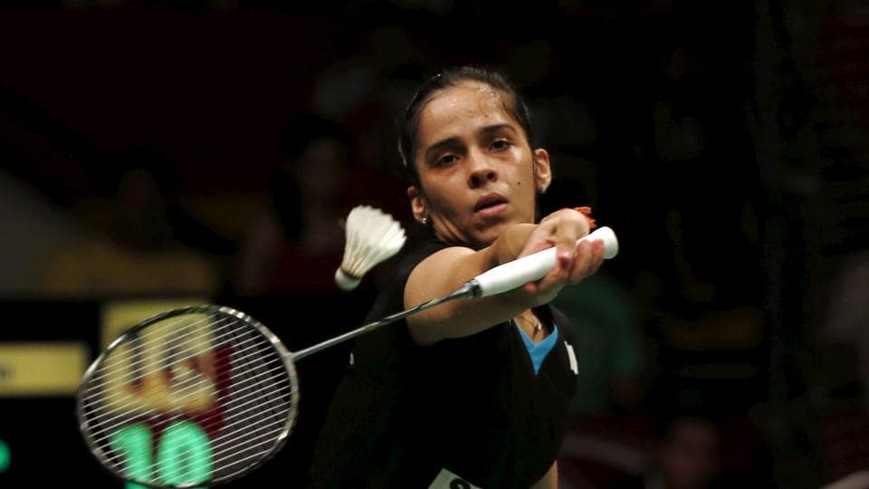 Saina Nehwal is in the quarterfinals of the Macao Open badminton championship.