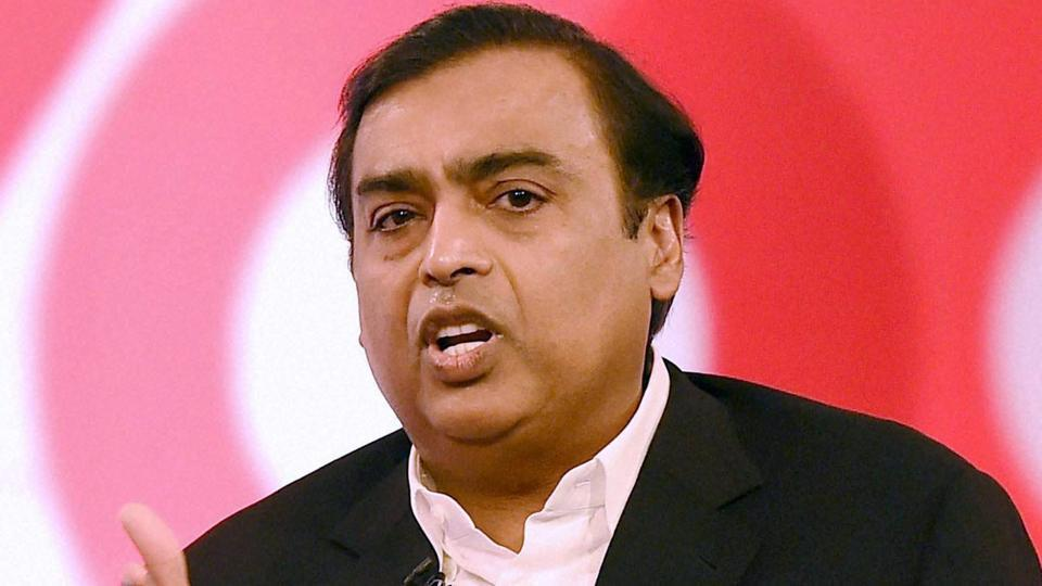 Mukesh Ambani, chairman and managing director of Reliance Industries Limited during an interactive session in Mumbai.