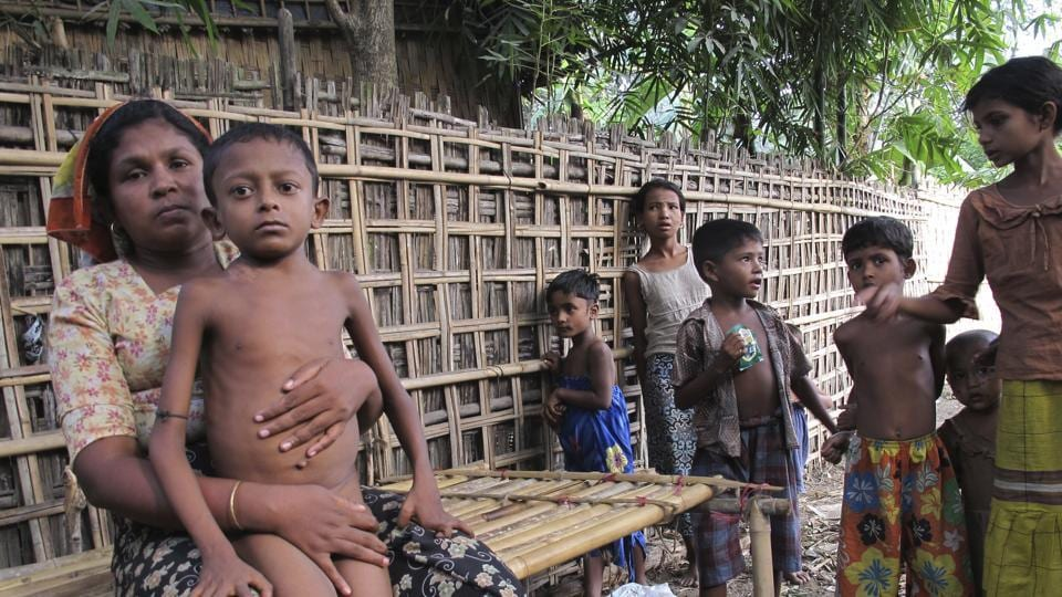 The Rohingya ethnic minority faces discrimination and occasional violence in Myanmar.