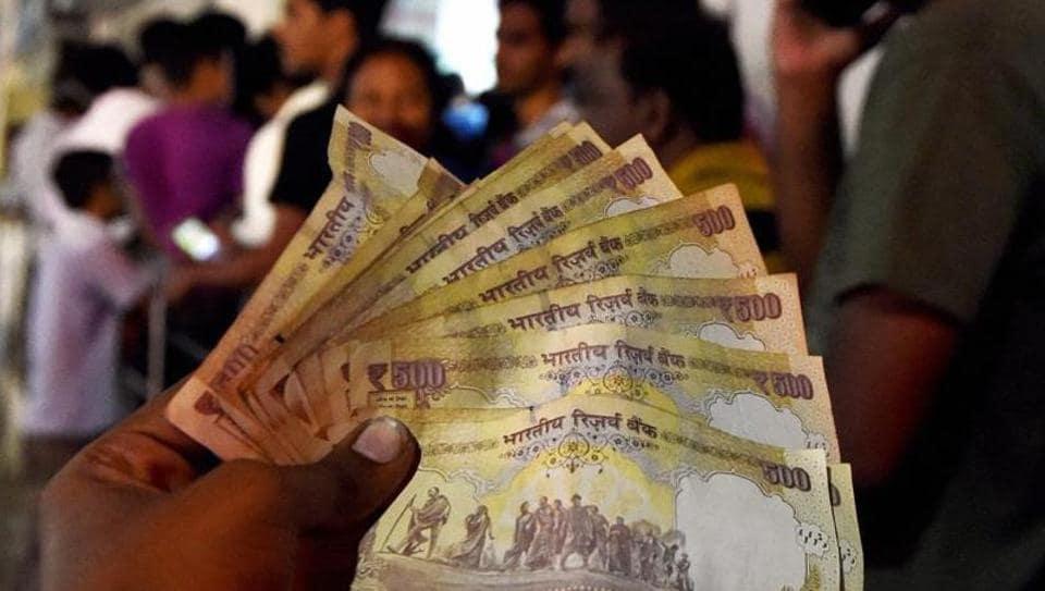 Demonetisation,Black Money,Old Rs 500 Notes
