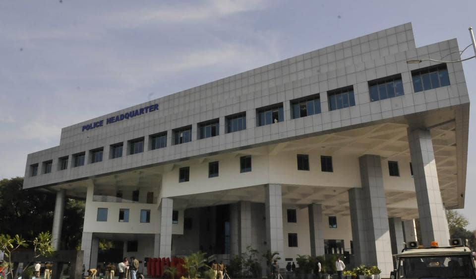 Police headquarters in Bhopal. The transferred IPS officers include 20-odd superintendent of police rank officers.