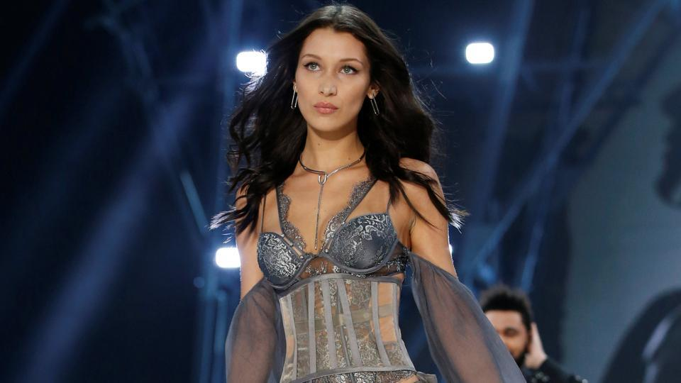 Her sister, Bella Hadid, also made her Victoria's Secret Fashion Show debut this year. (REUTERS)
