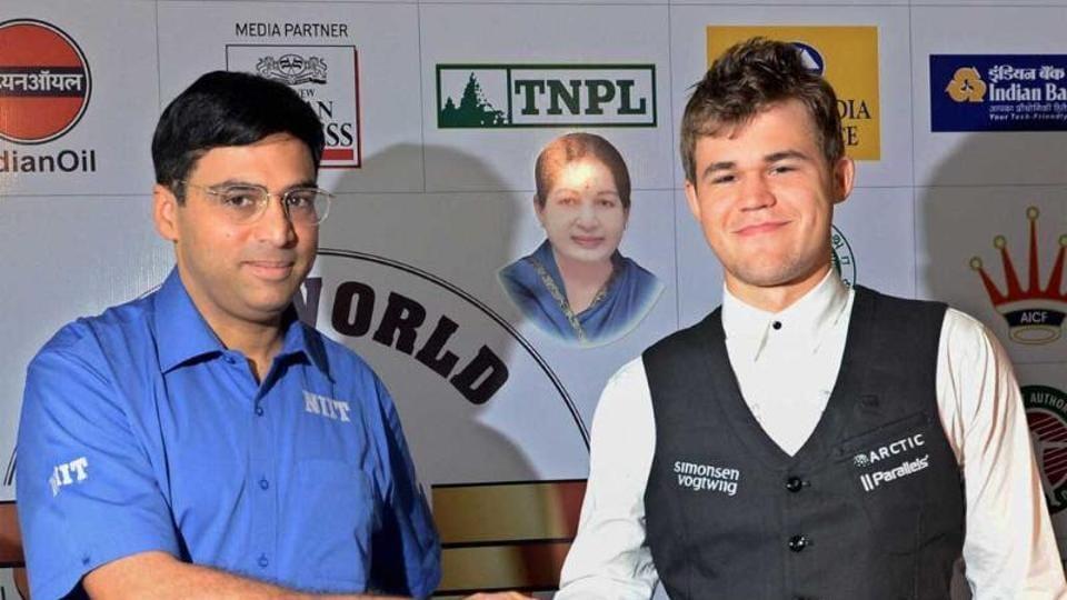 Magnus Carlsen,Viswanathan Anand,Sergey Karjakin