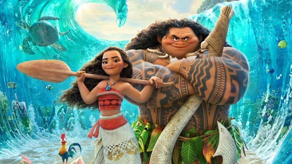 Moana,Moana Review,Dwayne Johnson