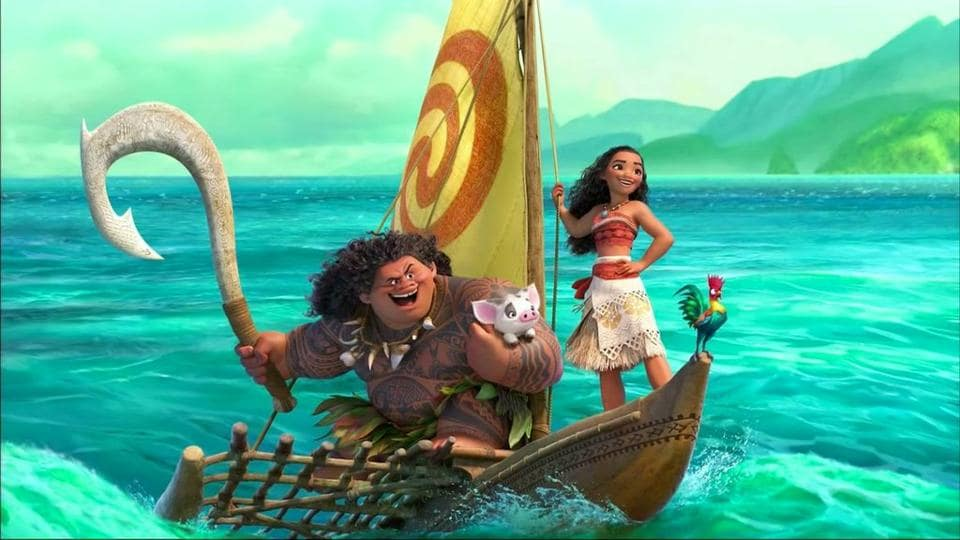 Brimming with gorgeous visuals and quirky characters, Moana tells the story of an adventurous South Pacific Islander and a shape-shifting demigod.