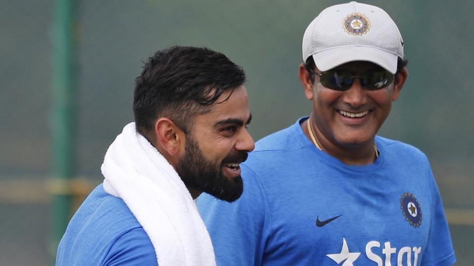 Virat Kohli,Anil Kumble,India vs England