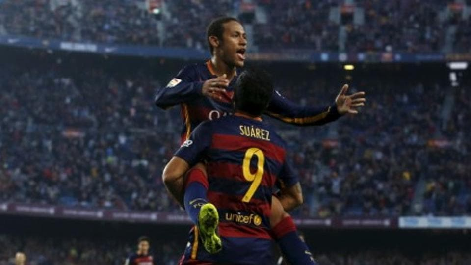 FC Barcelona will be banking on Luis Suarez (9), Neymar, and of course, Lionel Messi to provide the firepower against the rampaging Real Madrid when the two sides meet in the El Clasico at CampNou on Saturday.