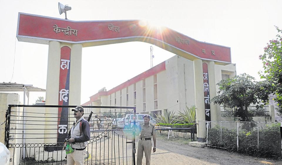 Bhopal Central Jail, where the SIMI men are housed.
