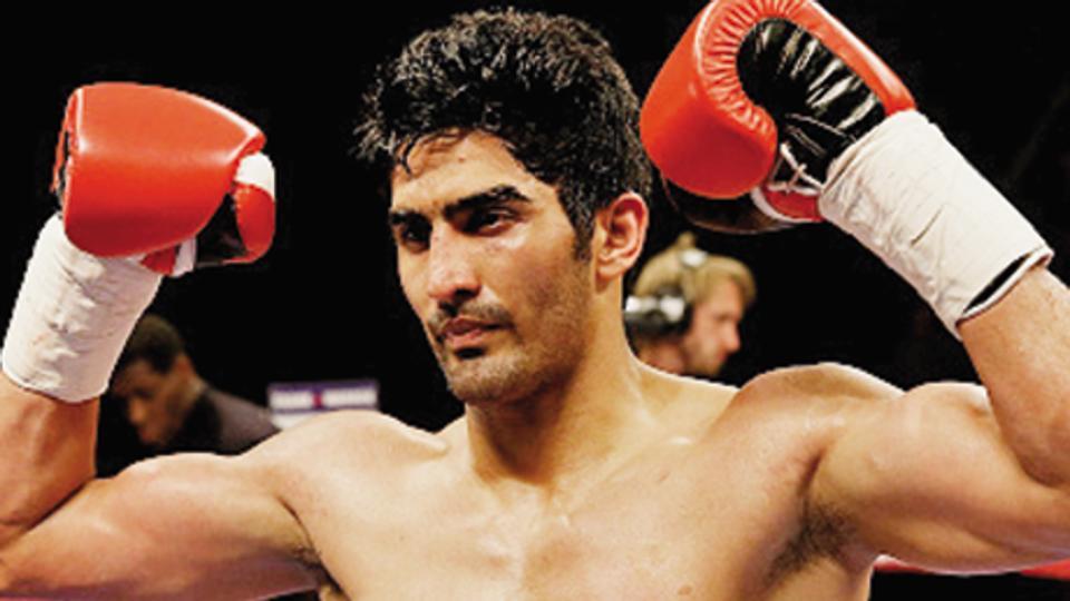 Vijender Singh,Francis Cheka,Boxing