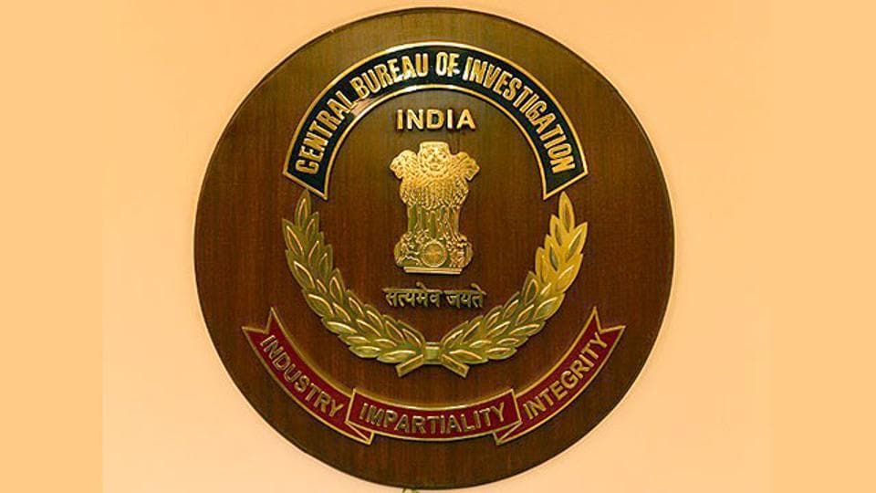 A logo of Central Bureau of Investigation.