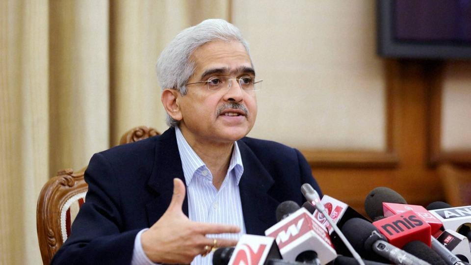 Economic Affairs secretary Shaktikanta Das.
