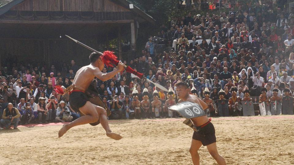 Nagaland is home to several tribes, each with its distinct festivals and character.  (PTI)