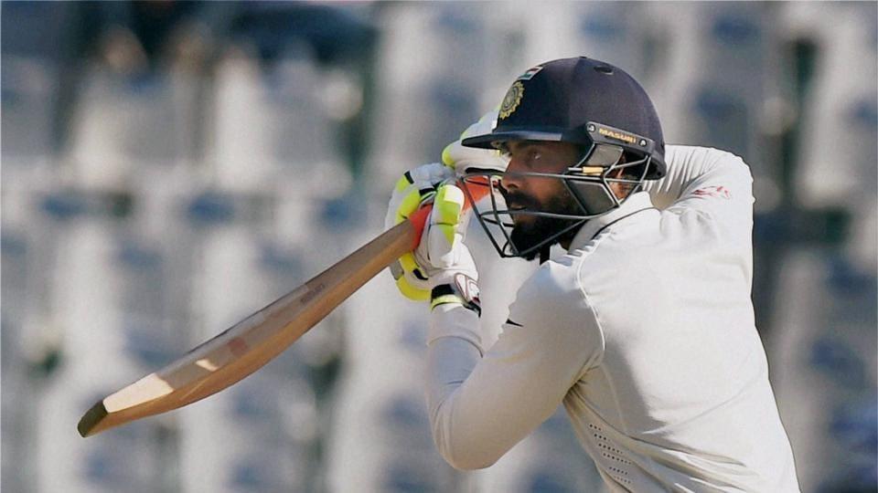 Ravindra Jadeja scored a match-winning 90 in the Mohali Test against England.