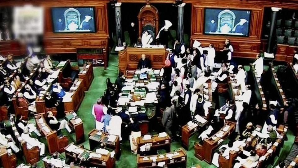 Winter session: Opposition protests force Lok Sabha to ...