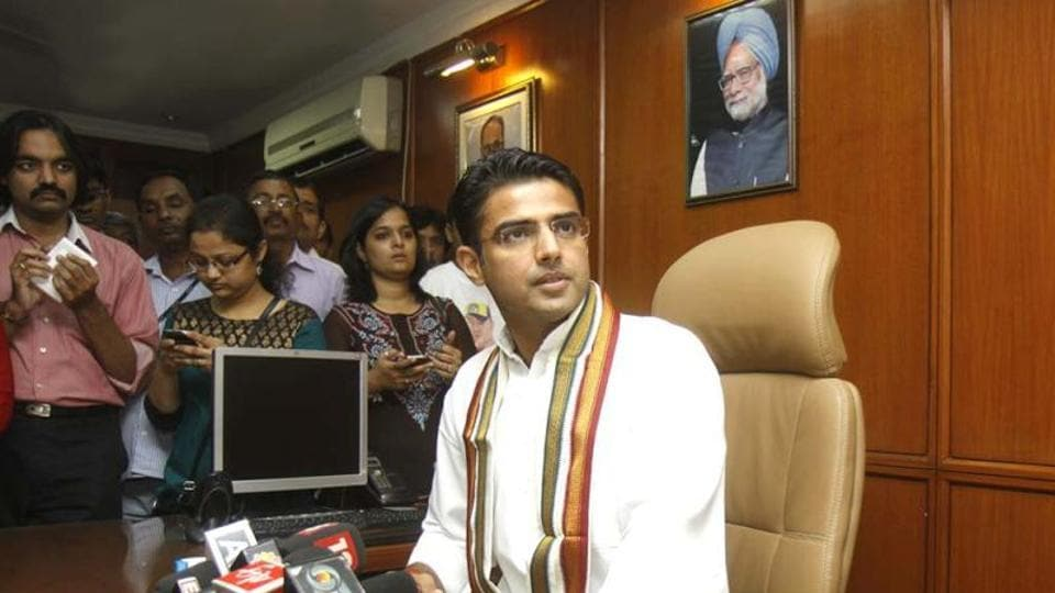 Sachin Pilot demanded that the BJP declare all land assets it has purchased over the six months prior to the demonetisation announcement.