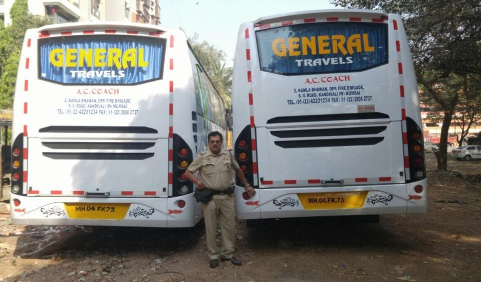 Andheri RTO,luxury,buses
