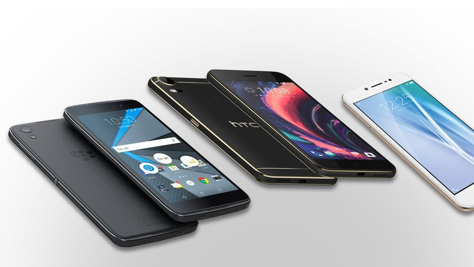 The sale of three new phones - the Blackberry DTEK , HTC Desire 10 Pro and Vivo V5 are likely to be affected