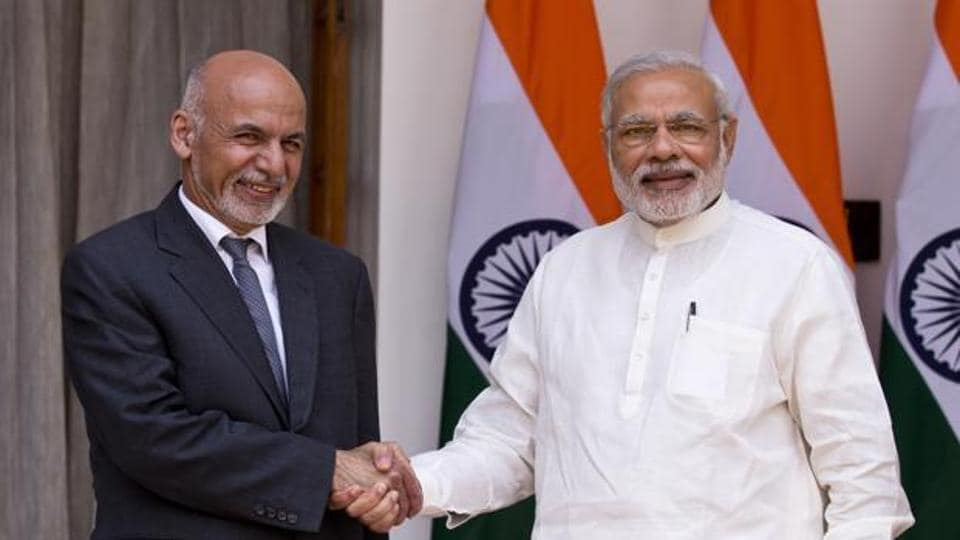 Afghan President Ashraf Ghani and Indian Prime Minister Narendra Modi were meeting in Amritsar, a short distance from the Pakistan border, for the Heart of Asia conference aimed at stabilising Afghanistan.